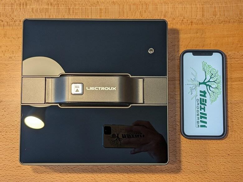 Liectroux WS-1080 スマホと比較