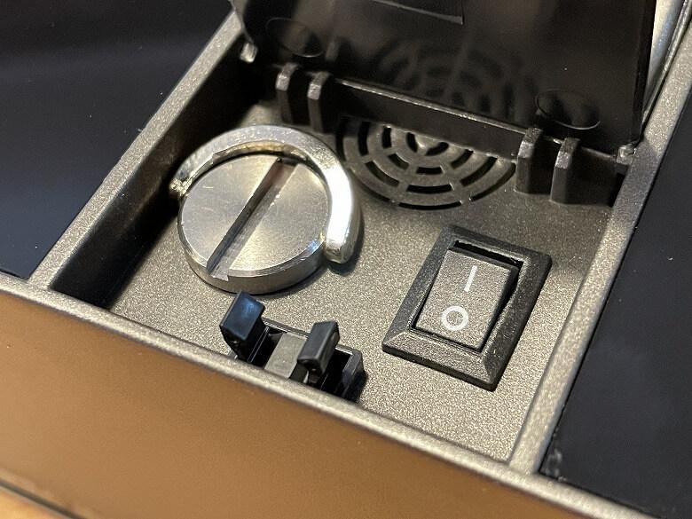 Liectroux WS-1080 電源ボタン