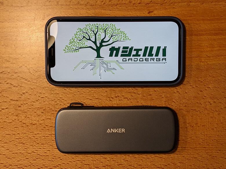 Anker PowerExpand 4-in-1 USB-C SSDハブ スマホと比較