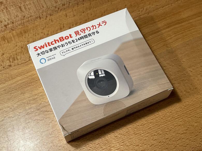 SwitchBot屋内カメラ 外箱