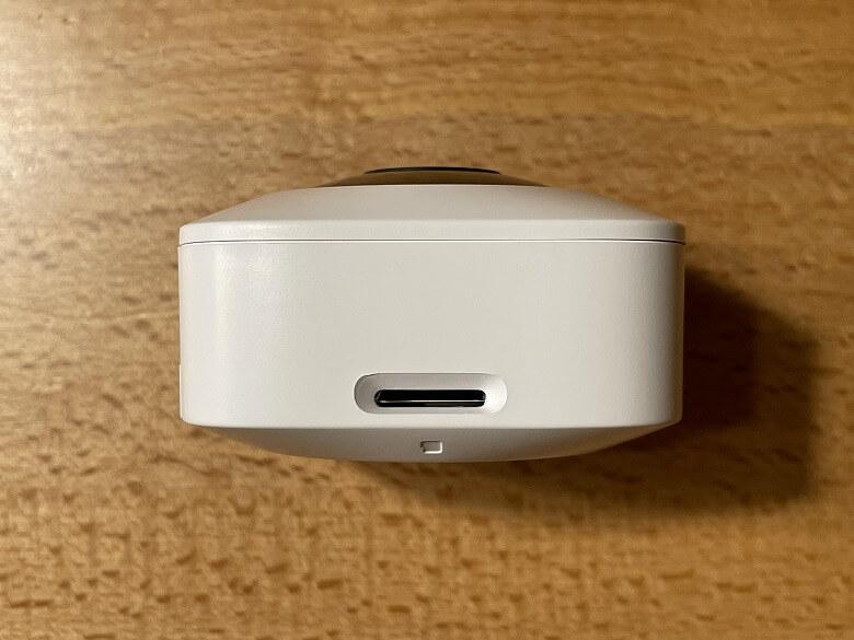 SwitchBot屋内カメラ microSDカードスロット