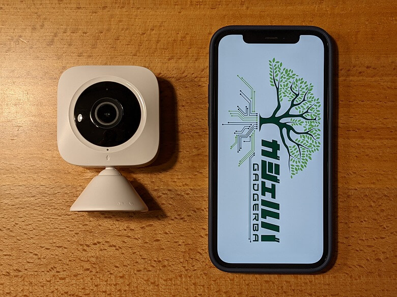 SwitchBot屋内カメラ スマホと比較