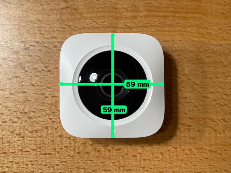 SwitchBot屋内カメラ サイズ