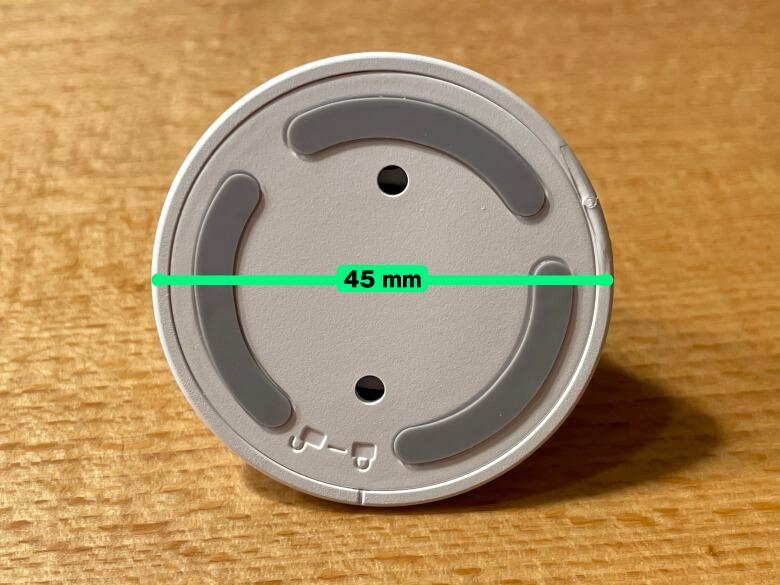 SwitchBot屋内カメラ 台座直径