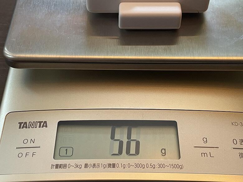 SwitchBot開閉センサー 重さ