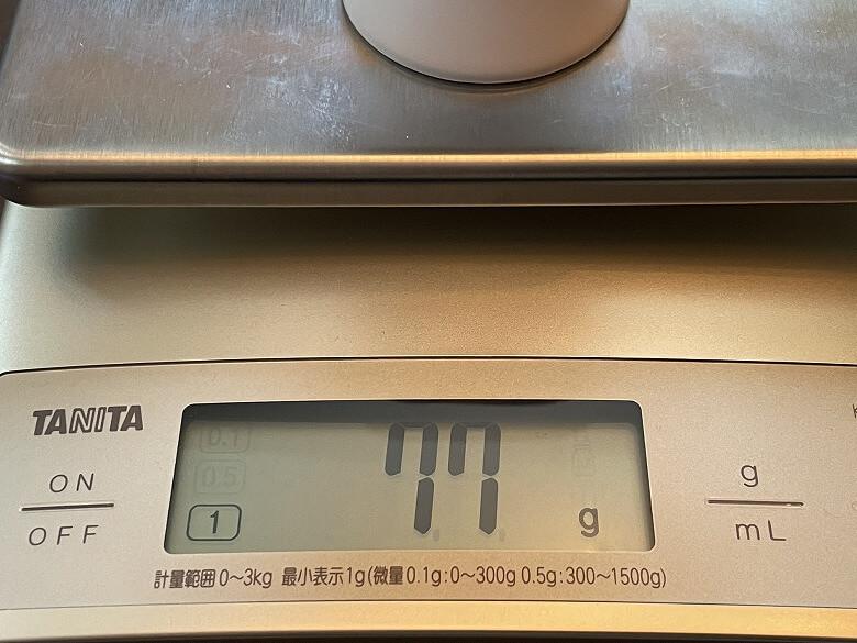 SwitchBot人感センサー 重さ