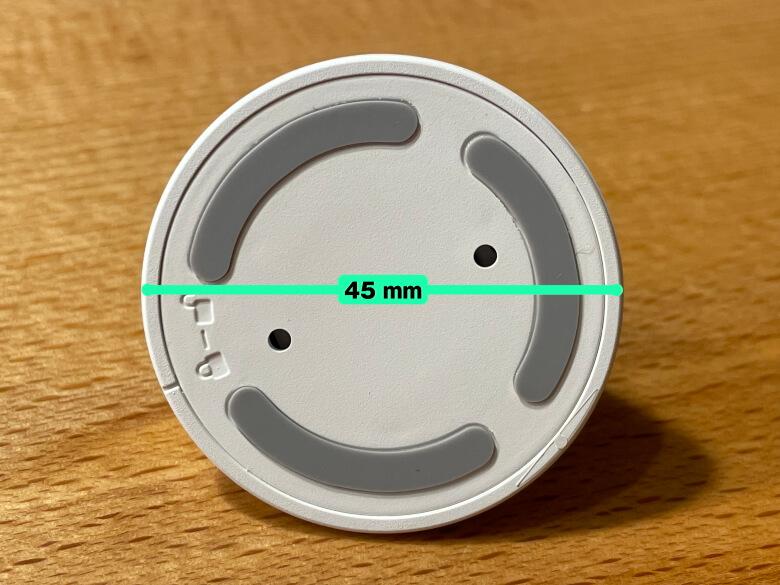 SwitchBot人感センサー 台座直径