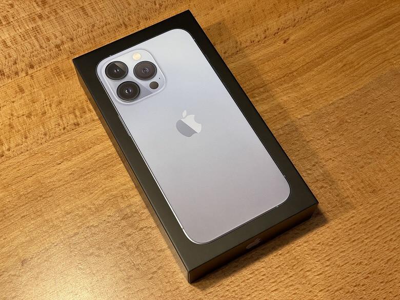 iPhone 13 Pro 外箱