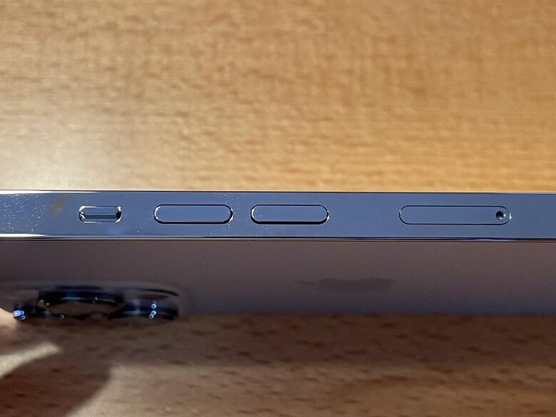 iPhone 13 Pro 音量ボタン