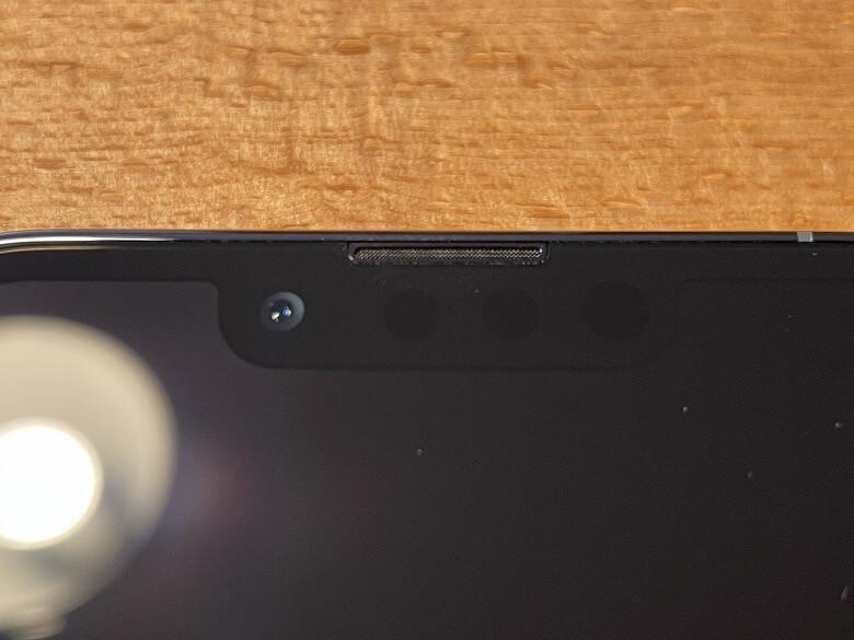 iPhone 13 Pro TrueDepthカメラ