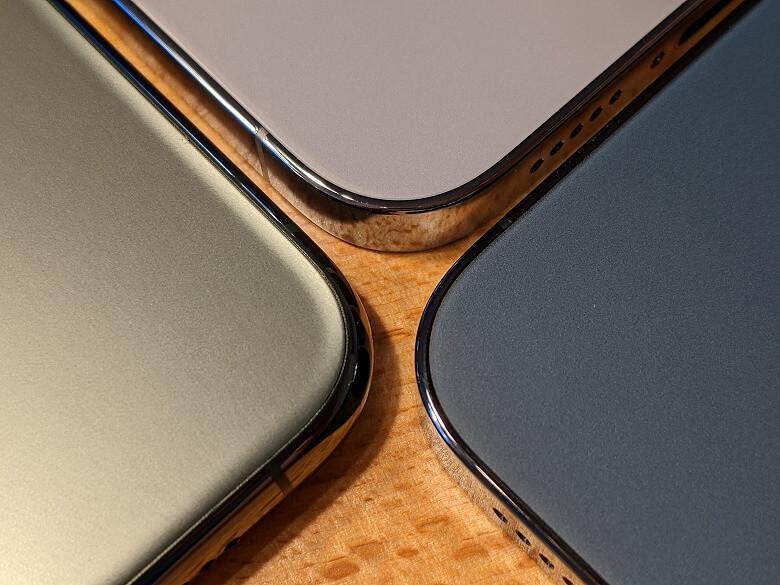 iPhone 13 Pro カラー比較