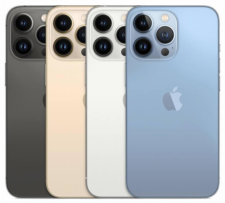 iPhone 13 Pro カラーバリエーション