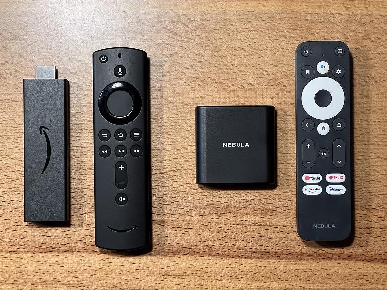 Fire TV Stick 4K Nebula 4K Streaming Dongleとの比較