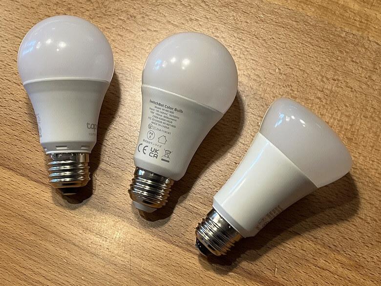 SwitchBotスマート電球 比較